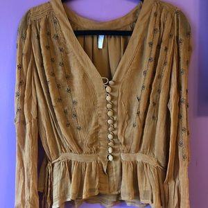 Free People shirt.